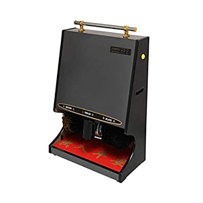 ZLSANVD Automatic Electric Shoe Polisher,Home Care Automatic Induction Shoe Polisher, Dust Removal/Oiling/Polishing,Suitable for Hotel Entrance Hall,Banks, Sales Centers, Clubs