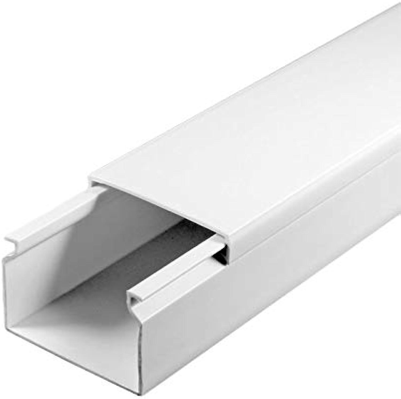 SCOS Smartcosat SCOSKK116  30 m Kabelkanal (L (L (L x B x H 2000 x 40 x 25 mm, PVC, Kabelleiste, Schraubbar) weiß B079QT6RT6 | Erschwinglich  b417b5