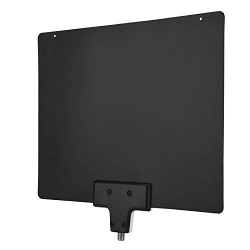 DAUERHAFT Prevención de Llama Ligera Plug and Play Antena de TV Digital de Alto Rendimiento Antena de TV Digital UHF Interior F Macho, para 720P 1080P Fácil instalación