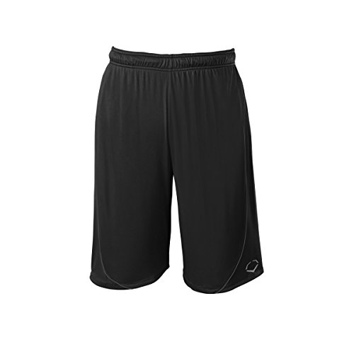 EvoShield Adult Pro Team Shorts, Black, Large