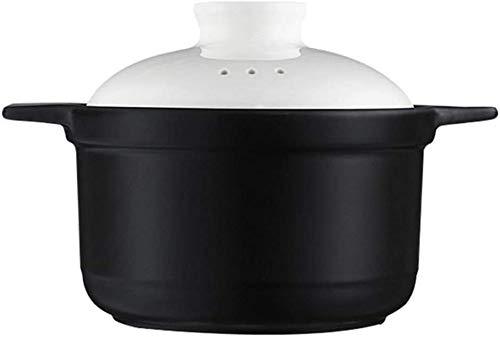 ZCM Haushaltsauflauf Gerichte Mit Deckel Auflauf Topf - Auflauf Eintopf Topf Suppe Haushalt Keramik Topf Eintopf(Size:3.2L)
