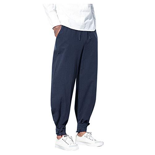 Zolimx Herren Yoga Hose Und Hippie Hose MäNner Bequeme Lose Pumphose Aladinhose Pluderhose Yoga Hosen Jogginghose Pants Sporthosen