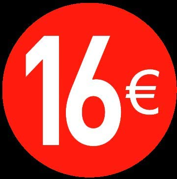 Price stickers euro - 13 mm, 16 ?, 120