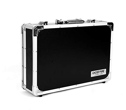 Ghost Fire Guitar Multi Effect Pedal Case 17.9x11.6x4.2in ,with Pedal Mounting Tape Fastener,Sturdy Locking Aluminum ,T series T-EC8