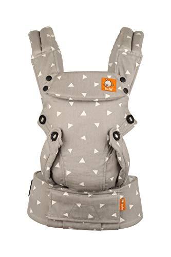 Tula explore Sleepy Dust – Portabebè ergonomico e regolabile con posizione frontale per far crescere con il tuo bambino da 3, 2 a 20, 4 kg senza bisogno di un cuscino per neonati, 5903050383824