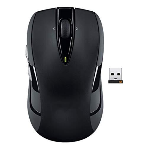 Ratón inalámbrico para videojuegos, botón lateral, rodillo de cuatro vías, mango cómodo con botón de fuego, para ordenador portátil
