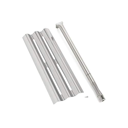Napoleon Gas Grill Stainless Burner & Sear Heat Plate Kit for LEX485/605/730 LE LD485 Series Grills S81001