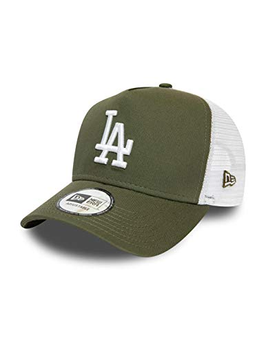 New Era Los Angeles Dodgers Frame Adjustable Trucker Cap League Essential