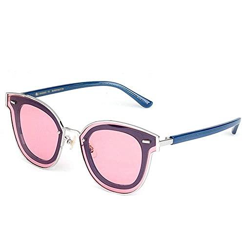 Gafas de sol unisex, de alta definición, retro, polarizada, lente rosa, protección Uv400, de moda, ligeras, para deportes al aire libre, Wayfarer