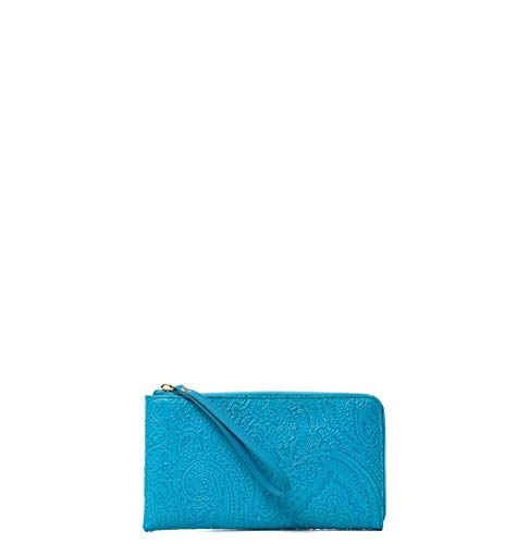 Etro Luxury Fashion Donna 1F2732744250 Azzurro Portafoglio | Primavera Estate 19