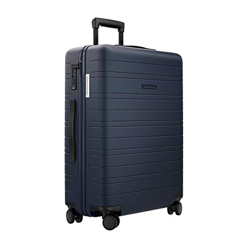 HORIZN STUDIOS H6 Essential Check-in Luggage (65 l) - Lightweight & Durable (Night Blue)
