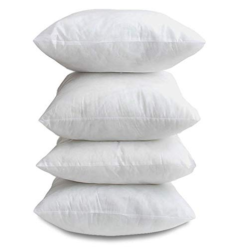 Britain's Bedding Cushion Inners 18 x 18 Inch Cushion Pads (45cm x 45 cm) - Pack Of 4