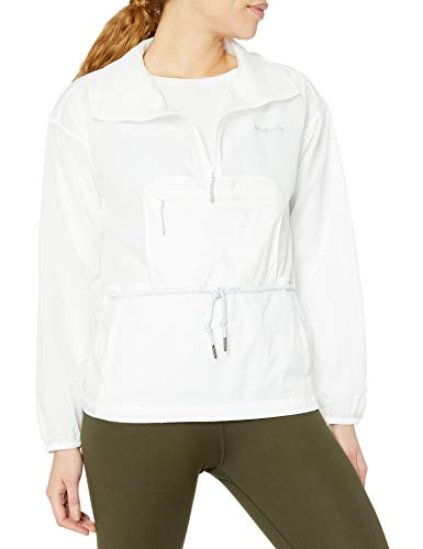 Columbia Women's Berg Lake Anorak, Packable, White, Small