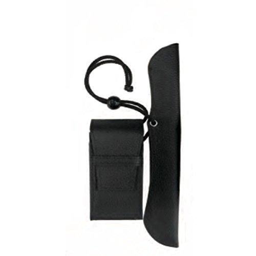 フカシロ 叺(かます) キセル用提げ物 腰提げ ブラック 18011301 23cmまで対応 煙管 きせる 袋