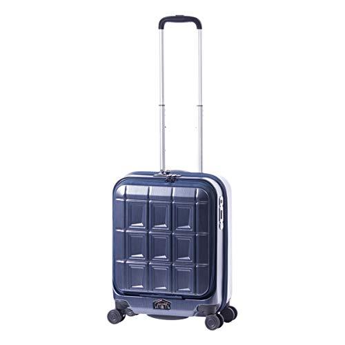 [アジアラゲージ] スーツケース|機内持ち込み 34L 50cm 3.2kg PTS-5006|フロントオープン[05/14] マットブラッシュネイビー