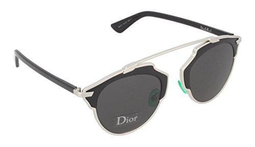 Dior So Real Y1 Gafas de sol, Negro (Palladium Black), 48 mm para Mujer