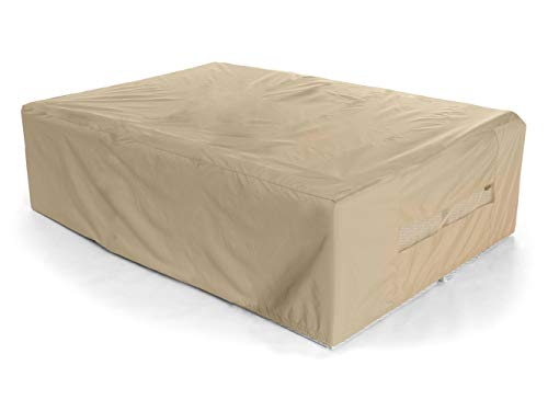Covermates - Modular Sectional Set Sofa Cover - Heavy Duty Material - Water and Weather Resistant - Patio Furniture Covers - Khaki