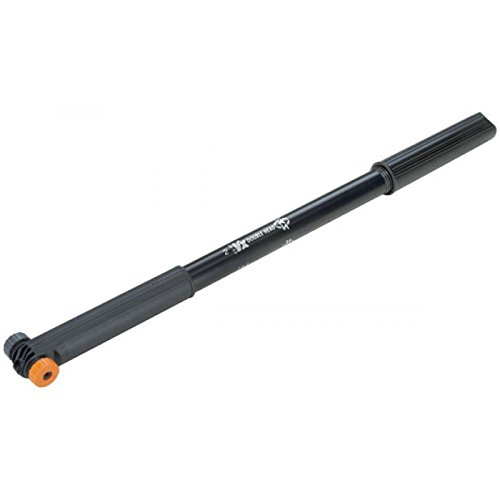 Prophete Fahrradpumpe SKS Rahmenklemm VX Länge 2=400-450 mm für alle Ventilarten, 6499