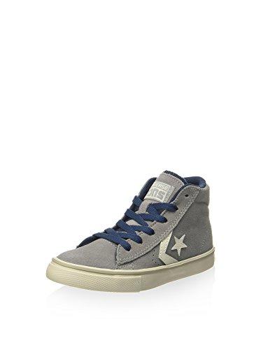 Converse Sneaker Alta PRO Leather Vulc Mid Suede Grigio/Blu Navy EU 33