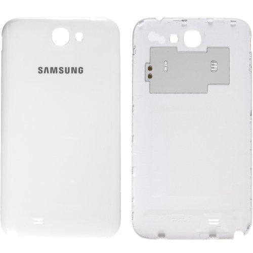 Original Samsung Akkudeckel für das Samsung N7100 Galaxy Note 2 - white / weiß mit NFC-Antenne (Akkufachdeckel, Batterieabdeckung, Rückseite, Back-Cover) - GH98-24445A