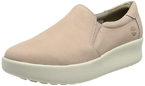 Timberland Berlin Park Slip-on, Zapatillas Mujer, Rosa Light Pink Nubuck, 41 EU