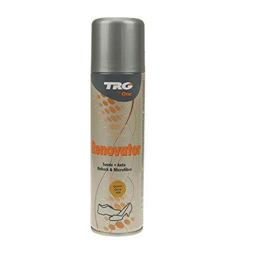 Langlauf Schuhbedarf TRG Renovator Wildleder Nubuk Microfaser Pflegespray Imprägnierspray (ocker)