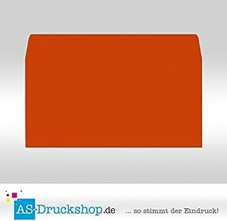 Briefumschlag KuGrün - Nektarine - Samt satiniert Din Lang     50 Stück B0794WZR2B  Einzigartig a05419