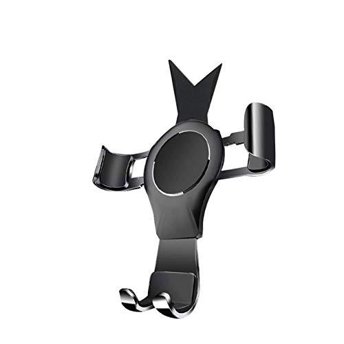 Wishful Teléfono de Aire de Coche Soporte de teléfono móvil Soporte de navegación Soporte de teléfono Monte Fit para Mercedes-Benz A-Clase B-Clase CLA GLA A180 B200 (Color : A 2013 to 2019)