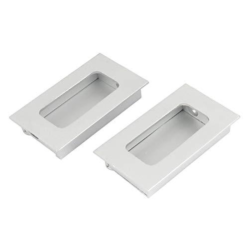 New Lon0167 Cajón de Destacados aluminio, aparador, puerta eficacia confiable de gabinete, empotrado, empotrado, empuñadura, mango, empuñadura, 2 piezas(id:bec 93 b0 446)