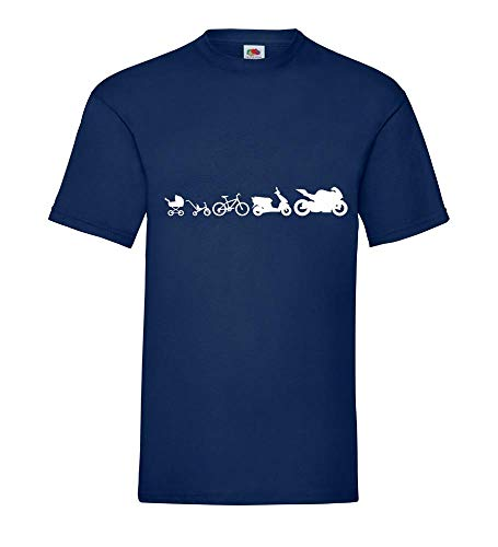 Motorcycle Evolution 2.0 mannen T-shirt - shirt84.de