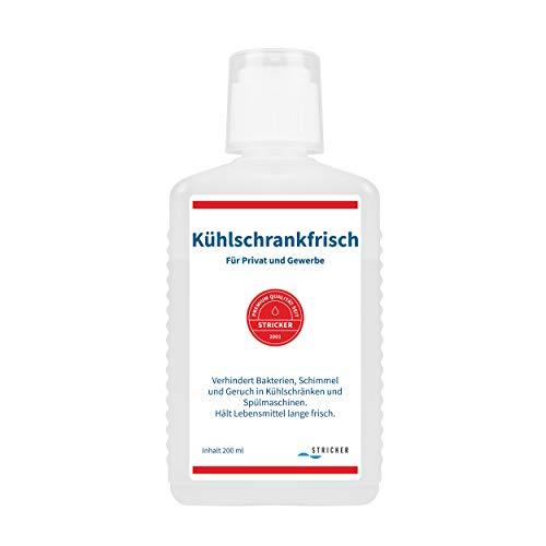 STRICKER Kühlschrankfrisch (1 x 200 ml) I Kühlschrank-Geruchsentferner I Geruchsneutralisierer I gegen Kühlschrank-Geruch I