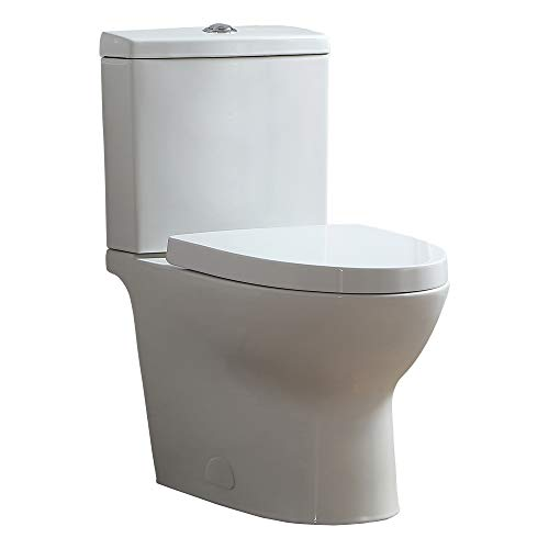 Ove Decors Beverly White 2-Piece Toilet