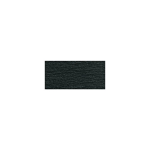 Rayher 81008576 Bastel-Krepp, 250x50cm, 30g/m², Rolle, schwarz