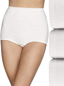 Vanity Fair Women's Lollipop Plus Size Brief Panties 3 Pack 15861