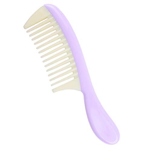 MERIGLARE/Brosse De Massage Démêlante Antistatique à Dents Larges Antistatique - Violet