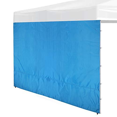 REDCAMP Instant Canopy Seitenwand für 3 x 3 m Pop-Up-Vordach, nur Sonnenwand, Blau