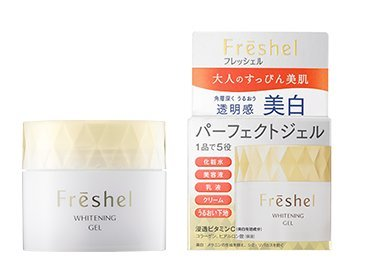 Kanebo Freshel Aqua Moisture Gel 80g - White (Green Tea Set)