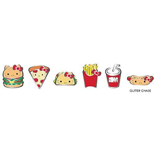 Loungefly Sanrio Hello Kitty Snacks Blind Box Enamel Pin