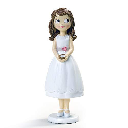 Mopec - Statuetta da Bambina con Vestito Corto, 16,5 cm