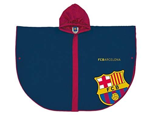 FC Barcelona Regenponcho Regenmantel Regenjacke
