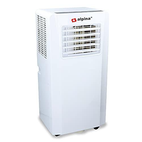 alpina Climatizzatore mobile 7000BTU – condizionatore mobile Air Conditioner – 780 Watt – 3 in 1 – Telecomando – Timer