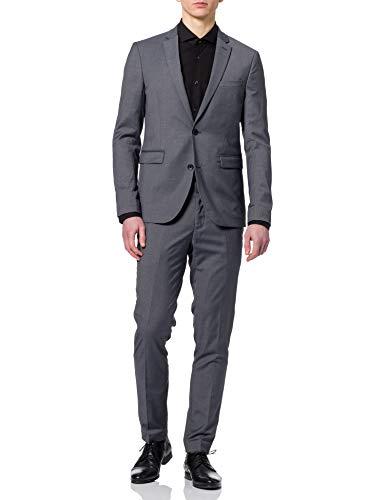 ESPRIT Collection Herren 080EO2M303 Business-Anzug Hosen-Set, 030/GREY, 50