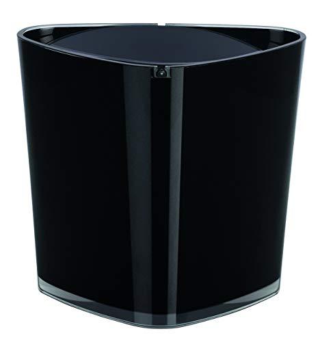 Spirella 10.15468 Trix Acrylique Poubelle Noir
