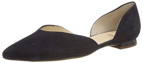 Högl Damen TENDERLY Geschlossene Ballerinas, Blau (Ocean 300, 40 EU