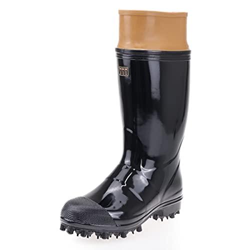 204111 ミツウマ 日本製 林業用長靴 NSキープ艶半長FMDX 25.0cm