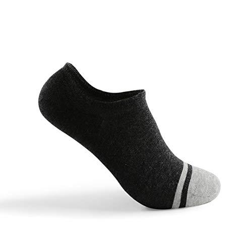 YWRD calcetines antideslizantes hombre calcetines ciclismo hombres Hombre running Calcetines Calcetines para caminar para hombre darkgray,m