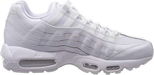 Nike Wmns Air MAX 95, Zapatillas de Gimnasia para Mujer, Blanco (White/White/White 108), 39 EU