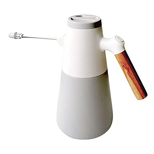 Fenteer Regadera de Botella de Aerosol eléctrica de 0,37 galones, rociador de Planta Mister, Mister de Planta de Mano con Boquilla Ajustable para la Limpieza