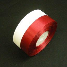 テープカット用テープ 紅白振分リボン特大(36mm巾×30m)