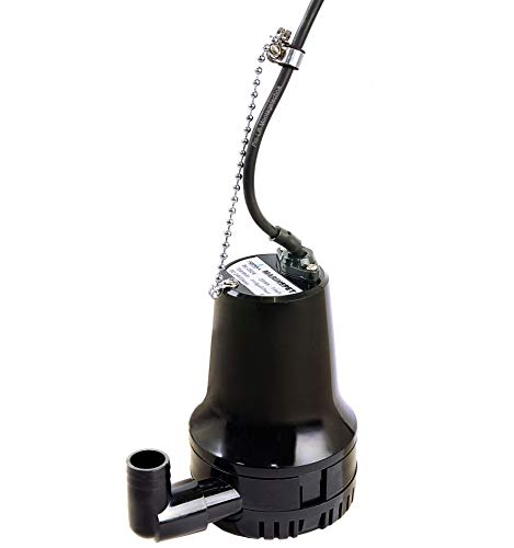 Pro-Lift-Werkzeuge Tauchpumpe Gartenpumpe 70l/min Wasserpumpe Bilgepumpe 12V Teichpumpe Boot Yacht elektrische Pumpe Lenzpumpe